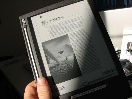 The iLiad e-reader device