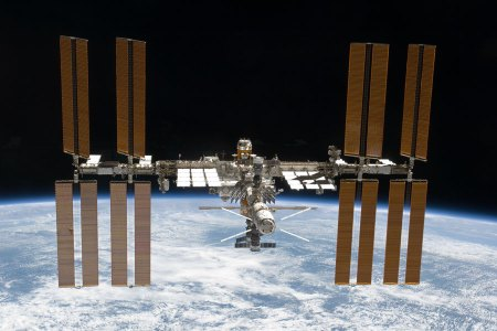 The International Space Station Expands Again Credit: STS-133 Shuttle Crew, NASA