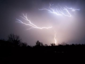 Lightning courtesy of Morguefile